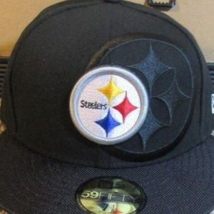 Pittsburgh Steelers New Era Fitted Baseball Hat